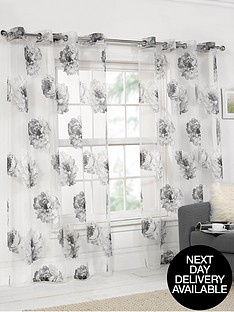 hamilton-mcbride-floral-printed-eyelet-voile-panel
