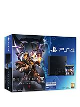 500Gb Destiny: The Taken King Legendary Edition Console and Optional 12 Months Playstation Plus and/or Extra Controller
