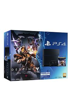 playstation-4-500gb-destiny-the-taken-king-legendary-edition-console-and-optional-12-months-playstation-plus-andor-extra-controller
