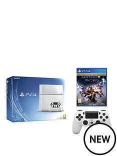 playstation-4-500gb-white-console-with-destiny-the-taken-king-legendary-edition-and-extra-controller
