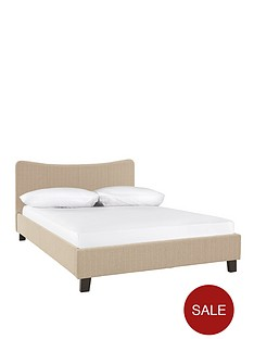 curve-fabric-bed-frame-with-optional-free-value-mattress
