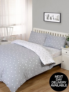 brushed-cotton-printed-spot-fitted-sheet-soft-grey
