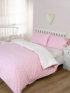 brushed-cotton-printed-spot-duvet-cover-set-pink