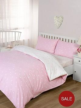 brushed-cotton-printed-spot-duvet-cover-set-pink