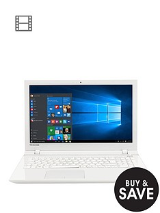 toshiba-l50-c-22p-intelreg-coretrade-i5-processor-12gb-ram-1tb-hard-drive-156-inch-laptop-with-optional-microsoft-office-365-white