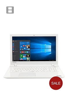 toshiba-l50-c-22q-intelreg-coretrade-i7-processor-12gb-ram-1tb-hdd-storage-156-inch-laptop-with-2gb-nvidiareg-geforcereg-930m-dedicated-graphics-with-optional-microsoft-office-365-white