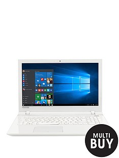 toshiba-l50-c-20h-intelreg-coretrade-i3-processor-4gb-ram-1tb-hdd-storage-156-inch-laptop-with-optional-microsoft-office-365-white