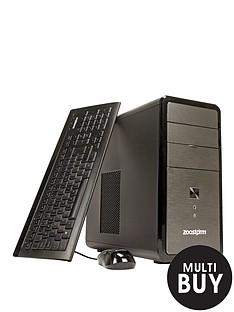 zoostorm-lp2201-intelreg-pentiumreg-processor-8gb-ram-1tb-hdd-storage-desktop-base-unit-with-optional-microsoft-office-365-personal