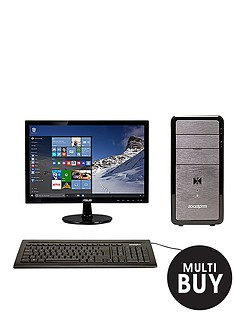 zoostorm-lp2201-intelreg-pentiumreg-processor-8gb-ram-1tb-hard-drive-185-inch-monitor-desktop-bundle-with-optional-microsoft-office-365-personal