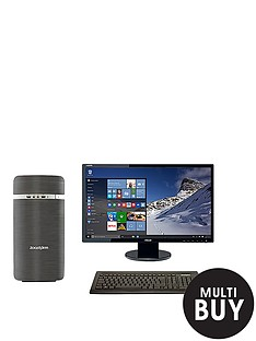 zoostorm-lp2209-amd-a10-processor-16gb-ram-3tb-hard-drive-236-inch-full-hd-monitor-desktop-bundle-with-optional-microsoft-office-365-personal