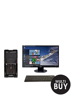 zoostorm-tempest-intelreg-coretrade-i3-processor-8gb-ram-1tb-hdd-storage-236-inch-full-hd-monitor-geforce-gt-740-graphics-desktop-bundle-with-optional-microsoft-office-365-personal