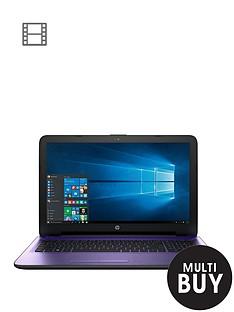 hp-15-ac113na-intelreg-pentiumreg-processor-8gb-ram-1tb-hard-drive-156-inch-laptop-with-optional-microsoft-office-365-purple