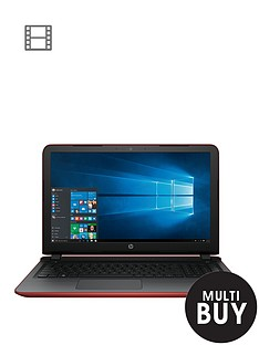 hp-pavilion-15-ab223na-intelreg-coretrade-i3-processor-8gb-ram-2tb-hard-drive-156-inch-laptop-iris-graphics-with-optional-microsoft-office-365-red