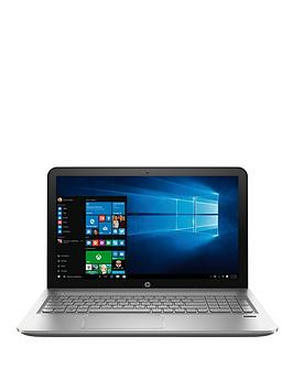 HP Envy 15-ae103na Intel® Core™ i5 Processor, 12Gb RAM, 2Tb Hard Drive, 15.6 inch Laptop with Nvidia GeForce GTX940M 2Gb and Optional Microsoft Office 365 - Silver/Black - laptop with Micros