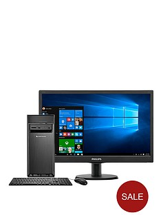 lenovo-h30-intelreg-celerontrade-processor-4gb-ram-1tb-hdd-storage-185-inch-desktop-bundle-with-optional-microsoft-office-365-personal