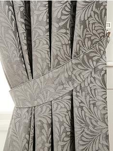 luxury-heavyweight-fern-jacquard-tie-backs-pair