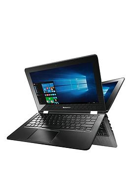 Lenovo YOGA 300 Intel® Pentium® Processor, 4Gb RAM, 500Gb Hard Drive, 11.6 inch Touchscreen 2-in-1 Laptop - laptop with Microsoft Office 365