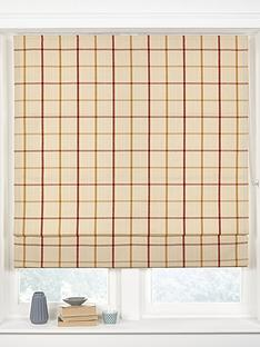 made-to-measure-croft-check-roman-blinds-harvest