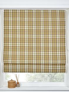 made-to-measure-lewis-check-roman-blinds-mustard