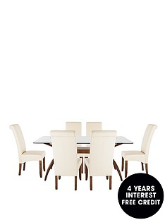 knox-180cm-table-with-6-brook-faux-leather-chairs