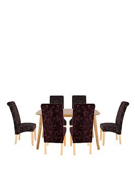 charles-150-cm-dining-table-6-brook-floral-fabric-chairs