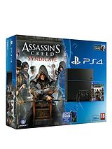 500Gb Console with Assassins Creed:Syndicate, Watch_Dogs with Optional 12 Months Playstation Plus and/or Extra Dualshock 4 Controller