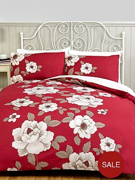 classic-floral-duvet-cover-and-pillowcase-set-red