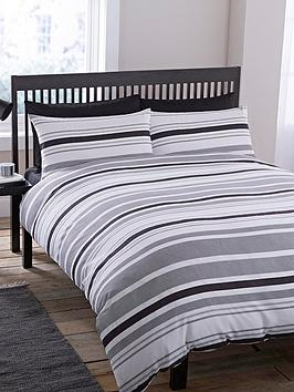 geo-stripe-duvet-cover-and-pillowcase-set-black