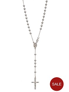 love-silver-sterling-silver-rosary-cross-pendant
