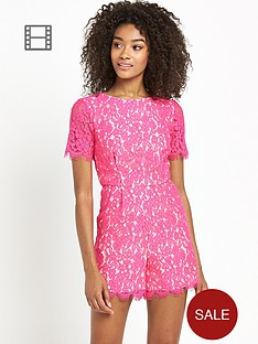 definitions-contrast-lining-lace-playsuit