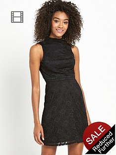definitions-high-neck-lace-skater-dress