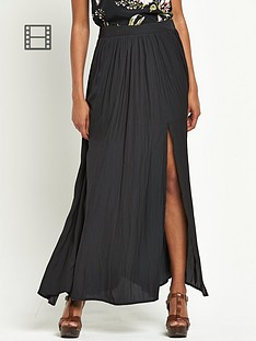 definitions-maxi-split-skirt