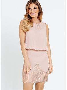 samantha-faiers-bugle-bead-skirt-dress
