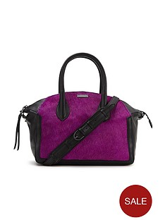 love-my-soul-textured-leather-purple-tote-bag