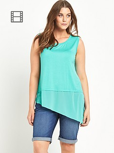 so-fabulous-asymmetric-sheer-panel-jersey-vest