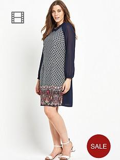 lovedrobe-printed-collar-dress