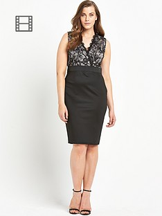 ax-paris-curve-lace-2-in-1-dress