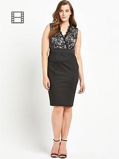 ax-paris-curve-lace-2-in-1-dress