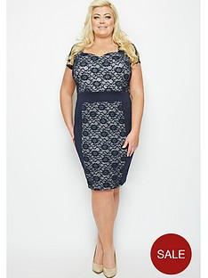 gemma-collins-gibraltar-lace-dress