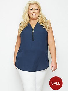 gemma-collins-bolivia-zip-blouse