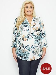 gemma-collins-burma-floral-zip-blouse