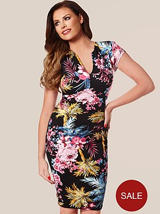 jessica-wright-samantha-tropical-bodycon-dress