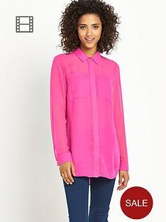 south-chiffon-front-pocket-blouse