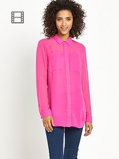 south-chiffon-front-pocket-blouse