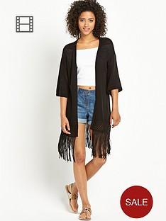 south-knitted-tape-yarn-fringed-hem-kimono