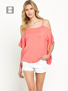south-cold-shoulder-dippy-hem-top