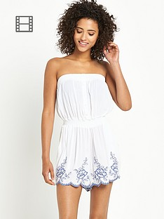 south-embroidered-hem-crinkle-playsuit