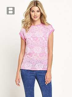south-burnout-floral-t-shirt