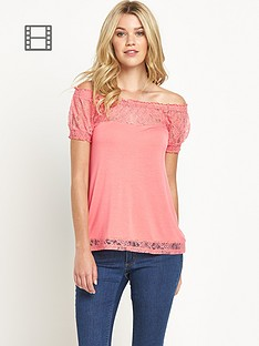south-lace-detail-bardot-top