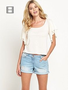 south-angel-sleeve-top